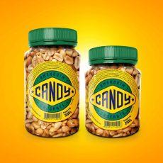 Amendoim crocante com sal - potes
