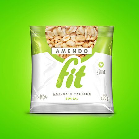 Amendoim torrado sem sal AmendoCandy150g 1