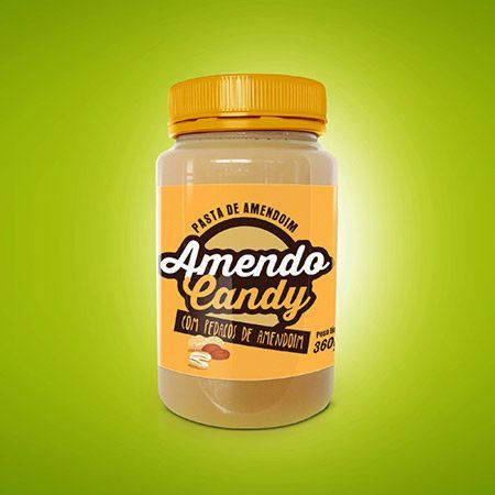 Pasta Amendo Candy com pedacos amendoim 1